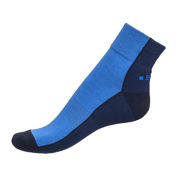 Ponožky Phuseckle Streetline půlené modré