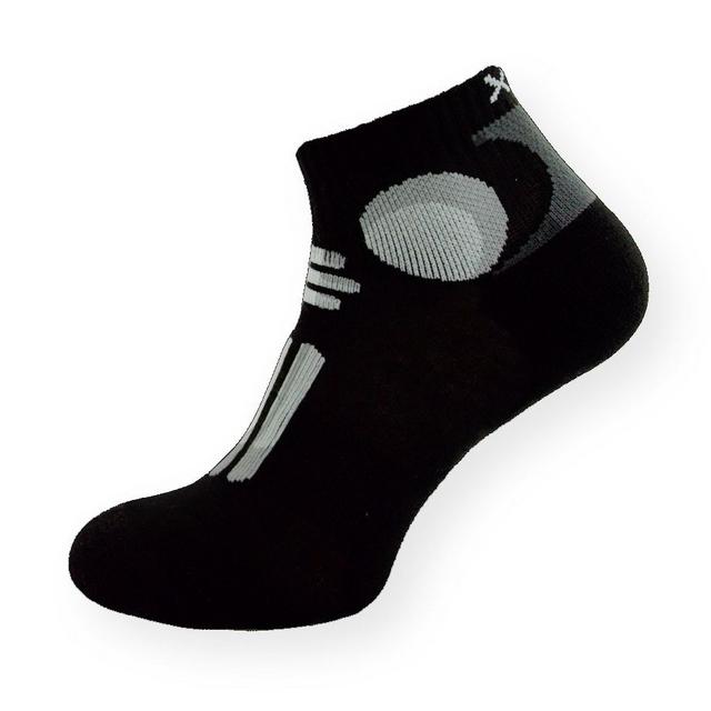 Kotníkové sportovní ponožky s antibakteriálním stříbrem