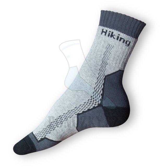 Trek ponožky šedé