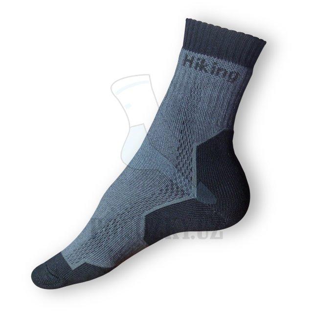 Trek ponožky tmavé-šedé