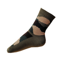 Dětské maskáčové ponožky tmavé