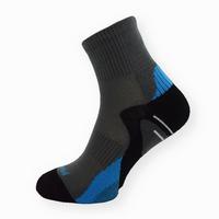 Bambusové sportovní ponožky tmavě šedé