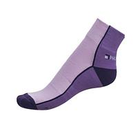 Ponožky Phuseckle Streetline půlené fialové