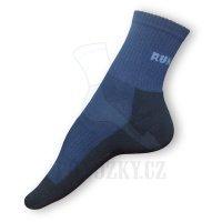 Běžecké ponožky modré-černé - VÝPRODEJ