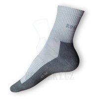 Běžecké ponožky šedé - VÝPRODEJ