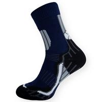 Moderní thermo ponožky tmavé modré-černé