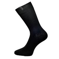 Luxusní černé klasické ponožky 98% bavlny