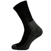 Černé ponožky z Merino vlny