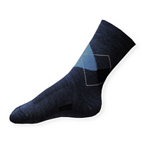 Dětské thermo ponožky Moira TG 900 PO/TGd káro-modré