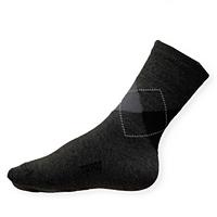 Dětské thermo ponožky Moira TG 900 PO/TGd káro-šedé