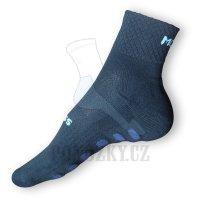Fitness ponožky Moira černé