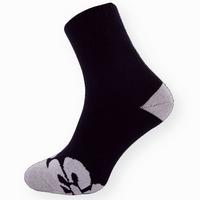 Dámské celoplyšové ponožky s květinovou špicí