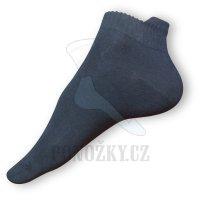 Kotníčkové ponožky černé
