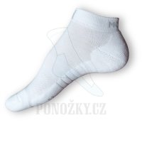 Kotníkové ponožky Moira golf bílé - NOVÁ NIŽŠÍ CENA!