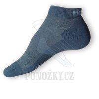 Kotníkové ponožky Moira golf černé - NOVÁ NIŽŠÍ CENA!