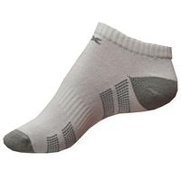 Moderní bílé nízké ponožky Litex