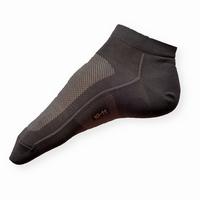 Kotníčkové šedé ponožky Moira PO/SHB