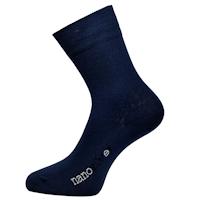 Ponožky Nanosilver společenské modré