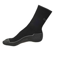 Ponožky Nanosilver neohrnovací sportovní černo-šedé