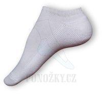 Nízké ponožky bílé