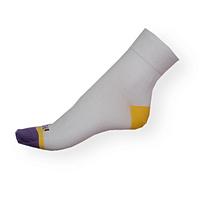 Bílé moderní klasické dámské ponožky Phuseckle Classicline