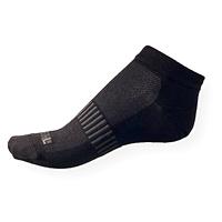 Kotníkové černé ponožky Phuseckle Summerline F