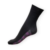 Ponožky Phuseckle Classicline černé-spodní kostka