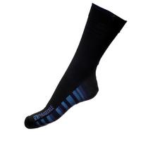 Pánské Phuseckle Classicline černé - spodní modré pruhy