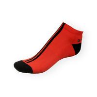 Dámské nízké kotníkové Phuseckle Softline červeno-černé