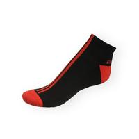 Pánské nízké kotníkové Phuseckle Softline černo-červené