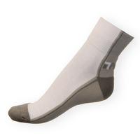 Ponožky Phuseckle Streetline šedo-bílé půlené