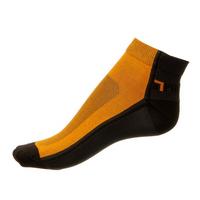 Kotníkové Phuseckle Summerline oranžovo-černé půlené