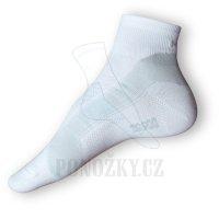 Ponožky Moira Cyklo Light bílé-šedé