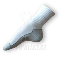 Ponožky Nanosilver sportovní bílé