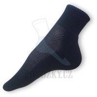 Ponožky na běh černé