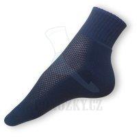 Ponožky na běh modré