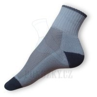 Ponožky na běh šedé
