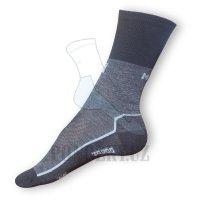 Thermo ponožky Moira černé-šedé