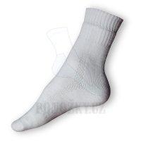 Trek ponožky bílé