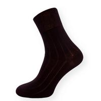 Společenské černé ponožky se zdravotním lemem