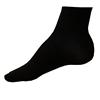 Klasické snížené černé ponožky