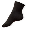 Šedé teplé ponožky se stříbrem pro diabetiky s otoky nohou Agiva AT 09
