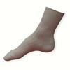 100% bavlněné bílé zdravotní ponožky