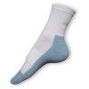 Běžecké ponožky bílé-modré - VÝPRODEJ