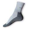 Běžecké ponožky šedé - VÝPRODEJ - zobrazit detail zboží