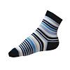 Dětské ponožky pro chlapce modro-bílé pruhy