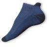 Kotníkové ponožky modré-černé - zobrazit detail zboží