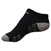 Moderní černé nízké ponožky Litex