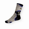 Thermo ponožky Litex tmavě šedé s modrou - zobrazit detail zboží