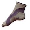 Cyklo ponožky Moira PO/CKL bílo-fialové - VÝPRODEJ